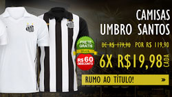 Camisa do Santos FC