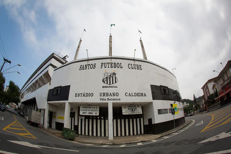 Entrada Estádio Vila Belmiro