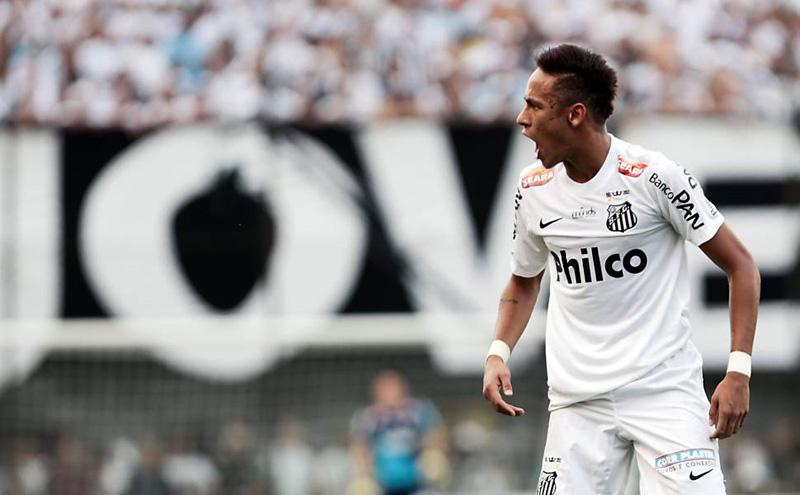 Neymar Jr. Na Vila Belmiro
